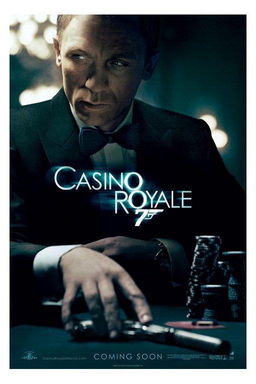 Bond trailer casino royale