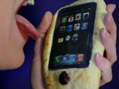 lick iphone